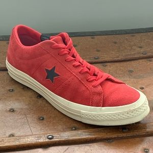 Converse One Star Ox Climate Counter Suede Red